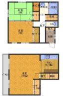 淡路市尾崎(四季の丘)_閑静な別荘地の入り口すぐにあるキレイな中古住宅。角地にあたります。駐車スペースあり!