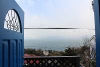 玄関からの眺望