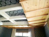応接室の天井(内装)