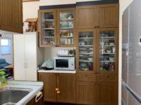 備付の食器棚(キッチン)