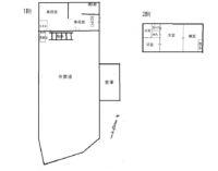 リバーサイド桑間_クレーン付きの事務所兼倉庫。広々とした作業場と、事務所が併設しています。敷地内に10台以上の駐車が可能です!