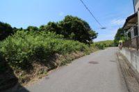 淡路市志筑_グリーンハイツ内の約255坪の土地(法面含む)。見晴らしの良い場所です!
