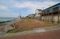 淡路市尾崎_前面棟がなく、海が一望できる土地。尾崎マリンタウンの一番海側です!