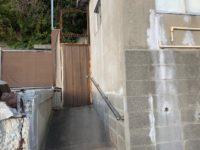 外からの玄関(玄関)