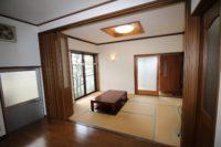 1階キッチン&和室(内装)