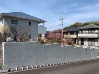 庭の塀(外観)